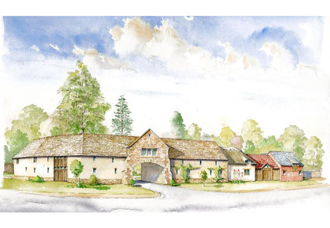Preston Lodge - Brown and Jones - Building Contemporary Country Homes 01