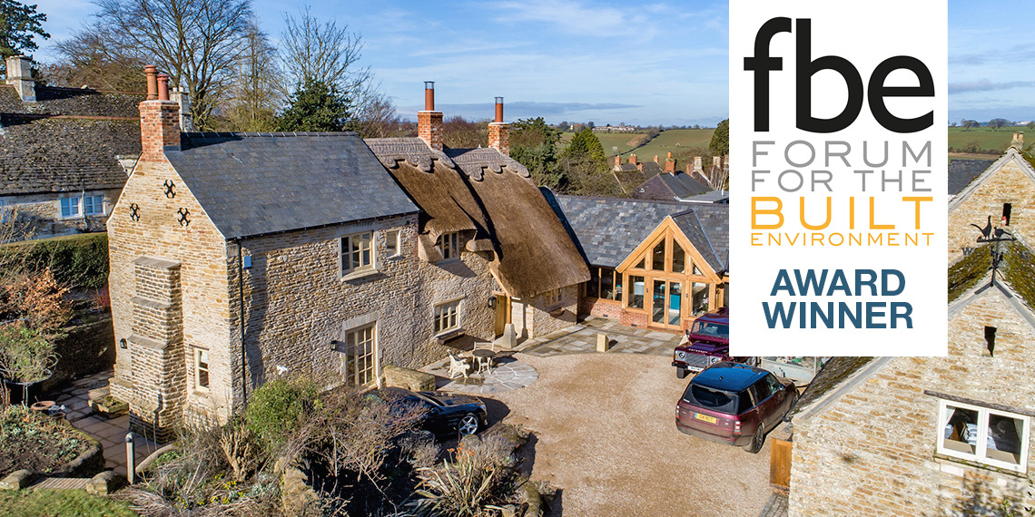 Garden Cottage Renovation, Wing Rutland -  fbe-sponsored Small Residential Project of the Year Award Winner - Brown and Jones Rutland